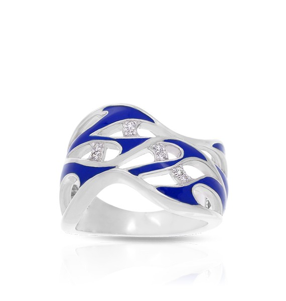 Belle Etoile - marea_blue_ring.jpg - brand name designer jewelry in Palmyra, New Jersey