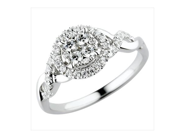Diamond Engagement Ring by Anthony