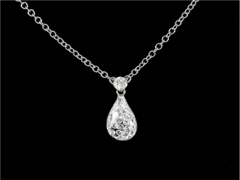 Diamond Pendant by Armand Jacoby