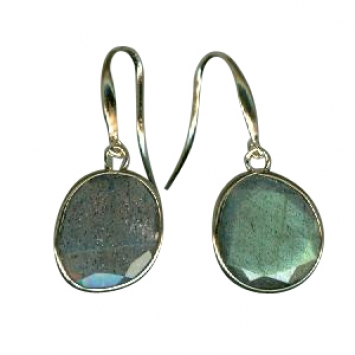 Gemstone Earrings by H. Weiss