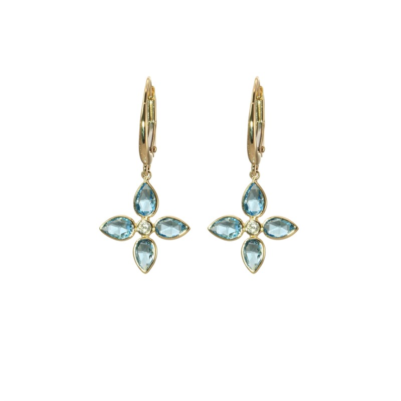 Gemstone Earrings by Oliva B