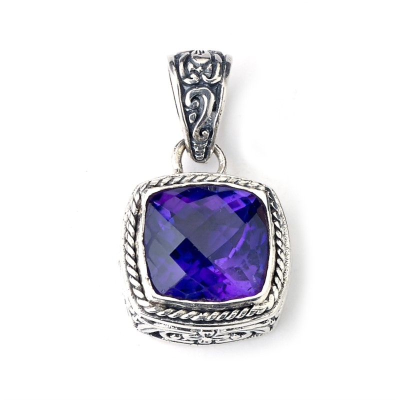 Gemstone Pendant by Samuel B.