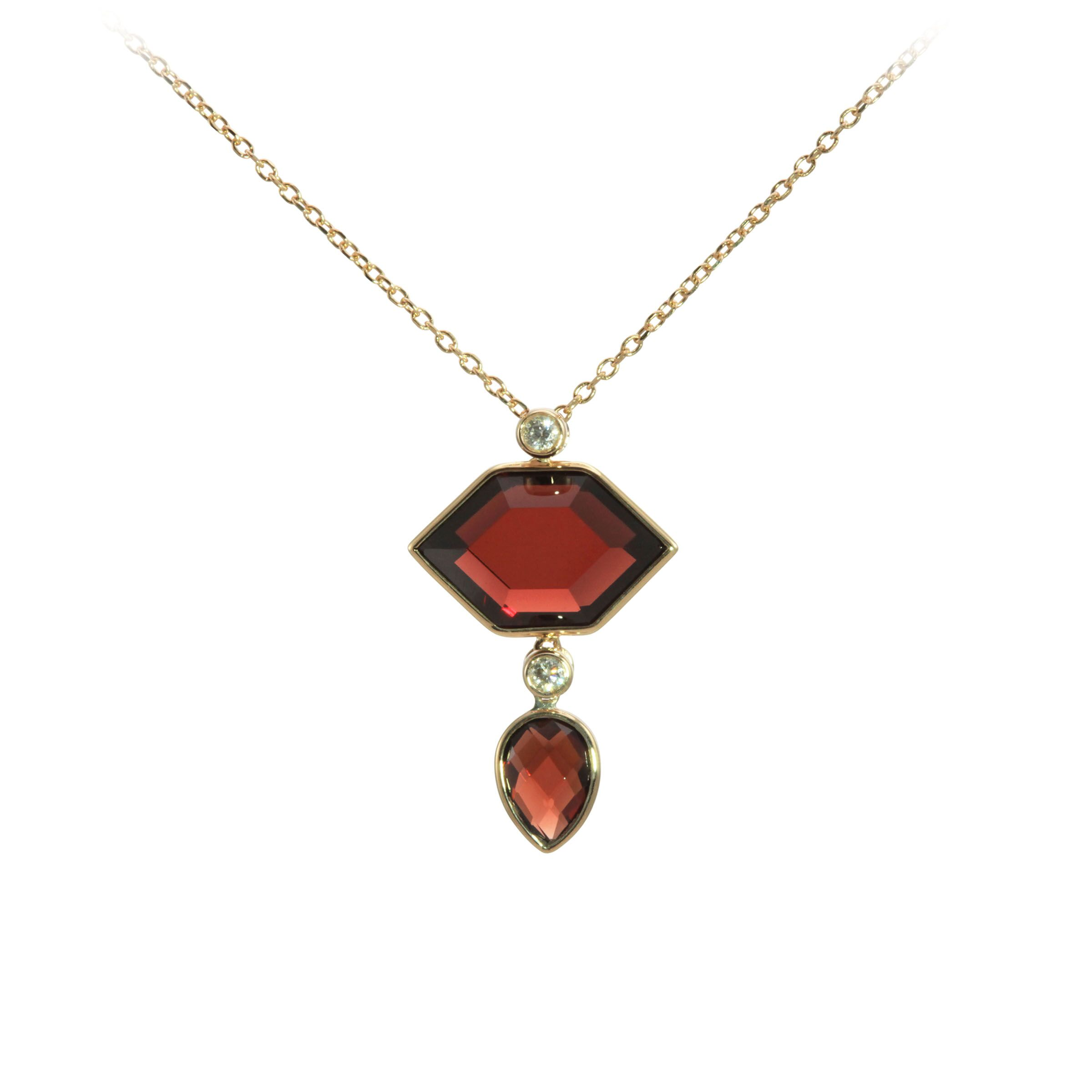 Gemstone Pendant by Oliva B