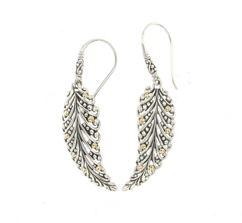 Sterling Silver Earrings by Samuel B.